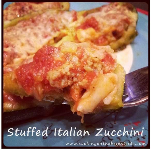 Stuffed Italian Zucchini