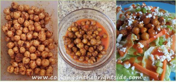 Buffalo Chickpea Salad - Steps