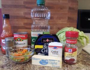 Ingredients - Buffalo Chickpea Salad