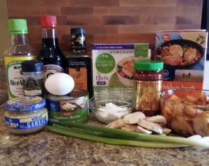 Ingredients - Hot and Sour Soup