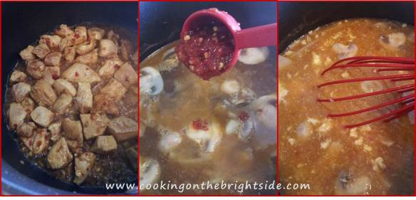 Step by Step - Hot and Sour Soup