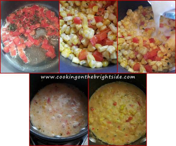 Step by Step - Creamed Corn