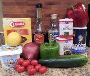 Ingredients_GreekPastaSalad