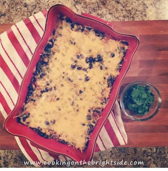 Baked Mexican Quinoa Casserole