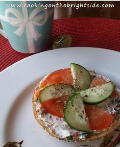 Smoked Salmon Bagel_cookingonthebrightside